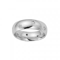 0.65ct Men's Round Cut Diamond Rings Wedding Band G/Si1