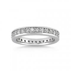 2.25ct Men's Round Diamonds Eternity Wedding Band Rings