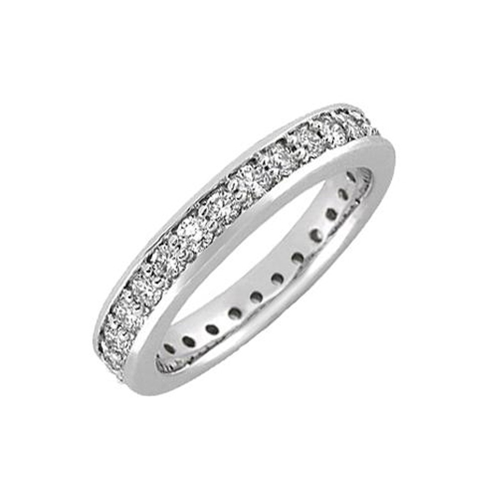 bands white diamond rings gold wedding product band mens cttw ring round